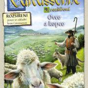 MINDOK HRA Carcassonne 9. rozšíření Ovce a kopce *SPOLEČENSKÉ HRY*