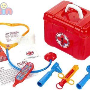 KLEIN Doktorský kufřík set dětské lékařské potřeby v boxu záchranář