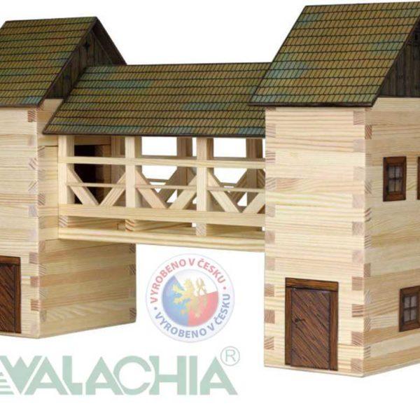 WALACHIA Most 33W26 dřevěná stavebnice