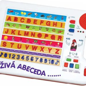 Tabulka naučná abeceda 2 barvy *..*