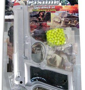 Pistole na kuličky na pružinu