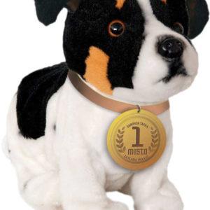 PLYŠ Pejsek Ťapka interaktivní Jack Russel pes reaguje na 6 povelů