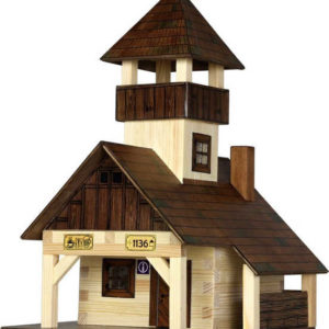WALACHIA Bouda turistická 33W40 dřevěná stavebnice