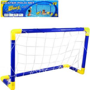 Plastová branka na vodní polo set s míčem a doplňky do vody multifunkční