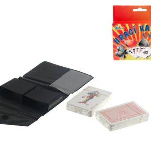 Karty hrací 108 ks v pouzdru