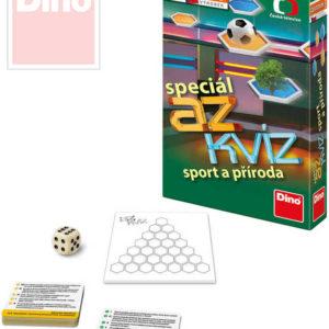 DINO Hra cestovní AZ Kvíz Speciál Sport a příroda *SPOLEČENSKÉ HRY*