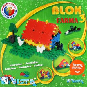VISTA BLOK 3 Farma plastová STAVEBNICE 197 dílků