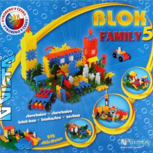 VISTA BLOK 5 Family plastová STAVEBNICE 242 dílků