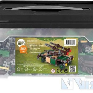 VISTA SEVA ARMY 1 Jumbo polytechnická STAVEBNICE v boxu 1169 dílků