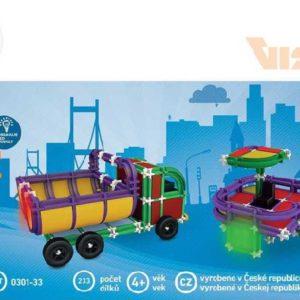 VISTA SEVA CITY Mini 2 Polytechnická STAVEBNICE Se zvukem 233 dílků