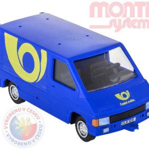 MONTI SYSTÉM MS05.4 Auto Renault trafic Česká Pošta stavebnice 0102-5.4