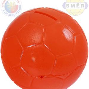 SMĚR Pokladnička (kasička) míč TANGO plastová oranžová