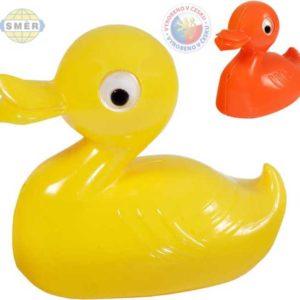 SMĚR Plavací zvířátko 2 barvy kachnička 12cm do vany