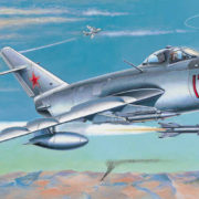 SMĚR Model letadlo MIG-17 PF/PFU 1:48 (stavebnice letadla)