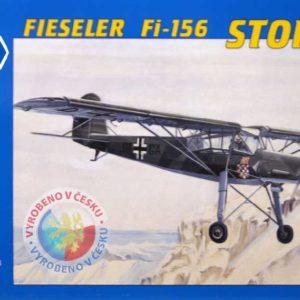 SMĚR Model letadlo Fieseler Fi156 Storch 1:72 (stavebnice letadla)