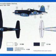 SMĚR Model letadlo Chance Vought F4U-1 (stavebnice letadla)