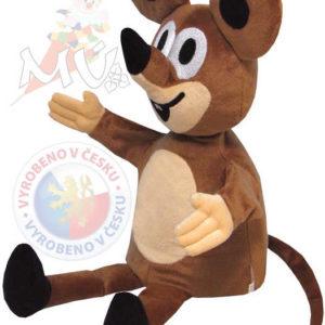 MORAVSKÁ ÚSTŘEDNA Maňásek Myška kamarádka Krtka (Krtečka)