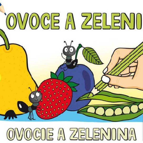 JIRI MODELS Omalovánky A5 OVOCE A ZELENINA