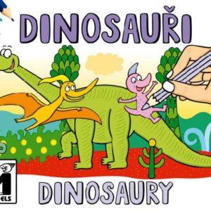 JIRI MODELS Omalovánky A5 Dinosaurus