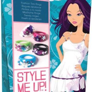 SMU Prstýnky dětské Vytvoř si prstýnek Style Me Up sada
