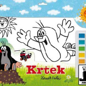 JIRI MODELS Omalovánky set s barvami A3 Krtek (Krteček)