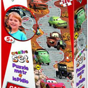WD Autíčko Cars Metr 150 dílků puzzle