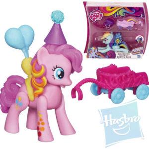 HASBRO MLP Poník pohyblivý s vozíkem My Little Pony 2 druhy na kartě