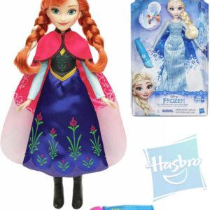 HASBRO Panenka 28cm s vybarvovací sukní Anna / Elsa Ledové Království 2 druhy