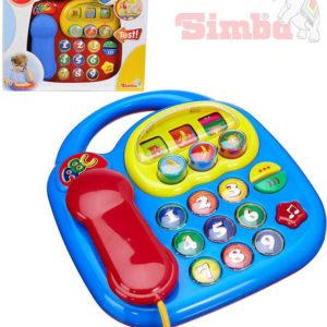 SIMBA Baby telefon na baterie 2 barvy