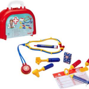 SIMBA Doktorský oválný plastový kufřík pro děti s lékařskými doplňky