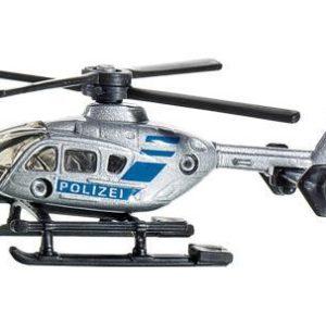 SIKU Helikoptéra Polizei VRTULNÍK kovový 0807