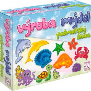 Výroba mýdel Podmořský život kreativní dětská sada pro výrobu mýdla