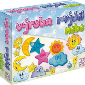 Výroba mýdel Nebe kreativní dětská sada pro výrobu mýdla