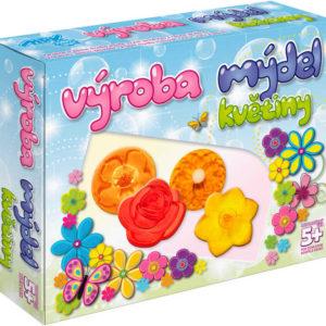 Výroba mýdel Květiny kreativní dětská sada pro výrobu mýdla