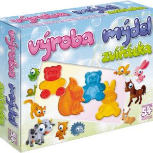 Výroba mýdel Zvířátka kreativní dětská sada pro výrobu mýdla