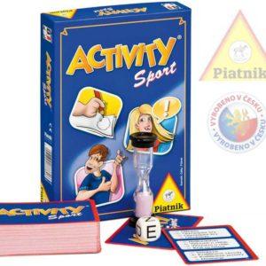 PIATNIK Hra ACTIVITY Sport *SPOLEČENSKÉ HRY*