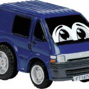 DICKIE Autíčko veselé Comic 6cm s očima 12 druhů zpětný nátah plast