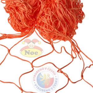 NOE Síť dekorační Oranžová na aranžování 5 x 1m na zavěšování hraček
