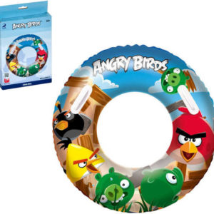 BESTWAY Atosa Kruh nafukovací Velký Angry Birds 91 cm Do vody