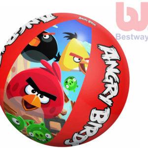 BESTWAY Nafukovací dětský míč Angry Birds 51cm do vody
