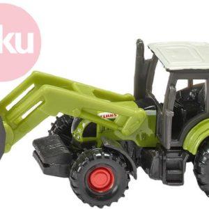 SIKU Model traktor Claas Ares s čelním nakladačem kov