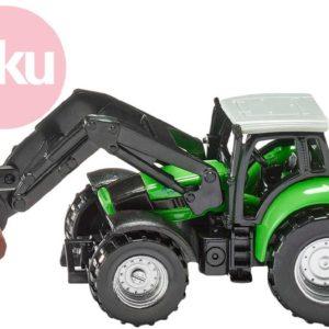 SIKU Model traktor s kleštěmi na dříví kov