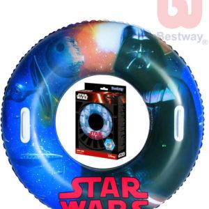 BESTWAY Kruh dětský 91cm nafukovací plavací kolo Star Wars do vody