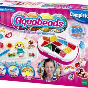 Korálkové studio pro začátečníky aquabeads vodové korálky set 800ks v krabici