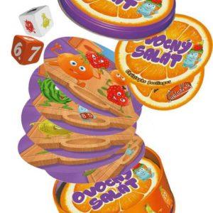ADC Hra Ovocný salát v plechové krabičce *SPOLEČENSKÉ HRY*