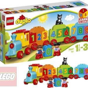 LEGO DUPLO Vláček s čísly 10847 STAVEBNICE