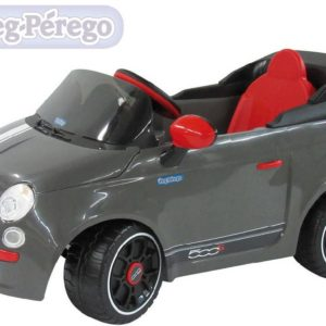 PEG PÉREGO Auto FIAT 500 grey 6V ELEKTRICKÉ VOZÍTKO