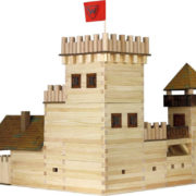 WALACHIA Hrad 33W19 dřevěná stavebnice