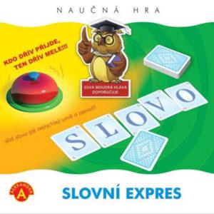 ALEXANDER Hra naučná Slovní expres *SPOLEČENSKÉ HRY*