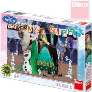 DINO Puzzle XL Frozen (Ledové Království) 300 dílků 47x33cm v krabici